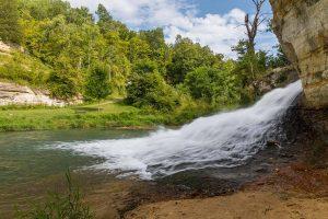 Como Falls in Hokah MN