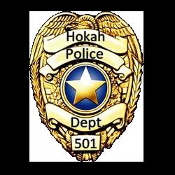 Hokah Police Badge