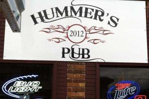 Hummers Pub Sign